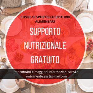 sportello nutrizionale gratuito